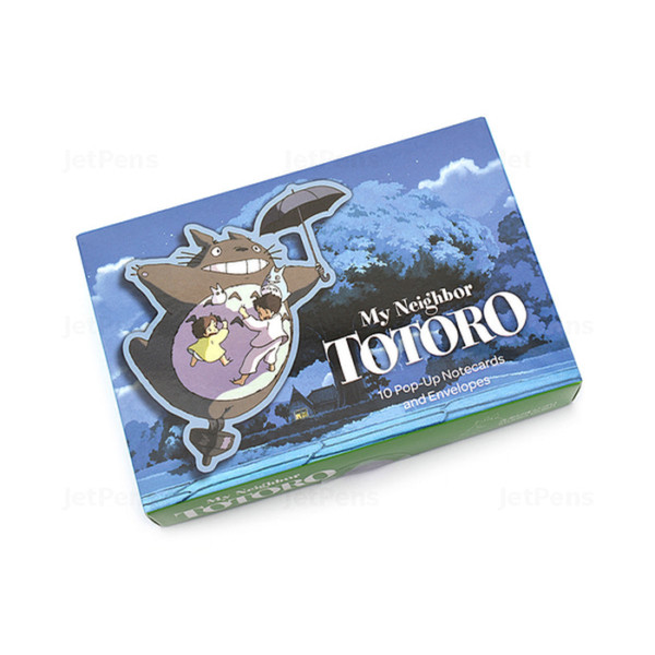My Neighbor Totoro 10 Pop-up Notecards And Envelopes
