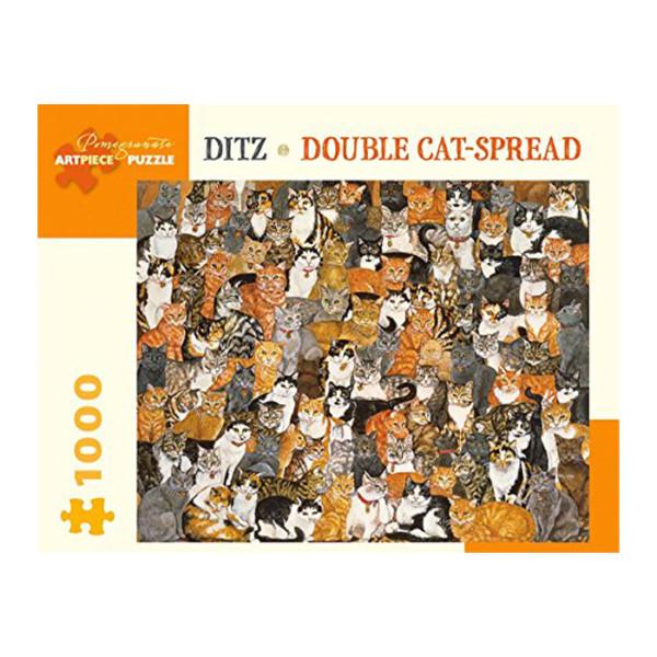 Rompecabezas 1000 Pc Ditz Double Cat - Spread