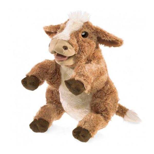 TITERE VACA MARRON BROWN COW