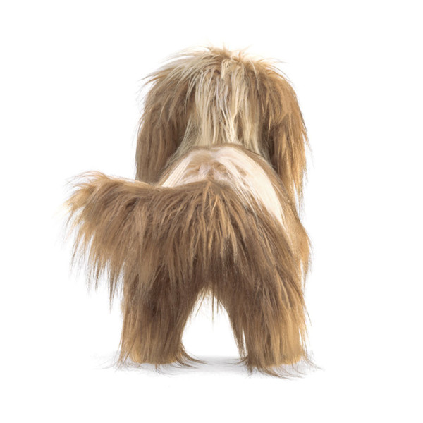 TITERE PERRO SHAGGY DOG FOLKMANIS