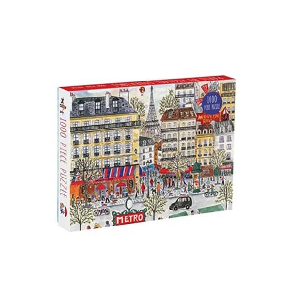 ROMPECABEZAS PUZZLE 1000 PC PARIS GALISON
