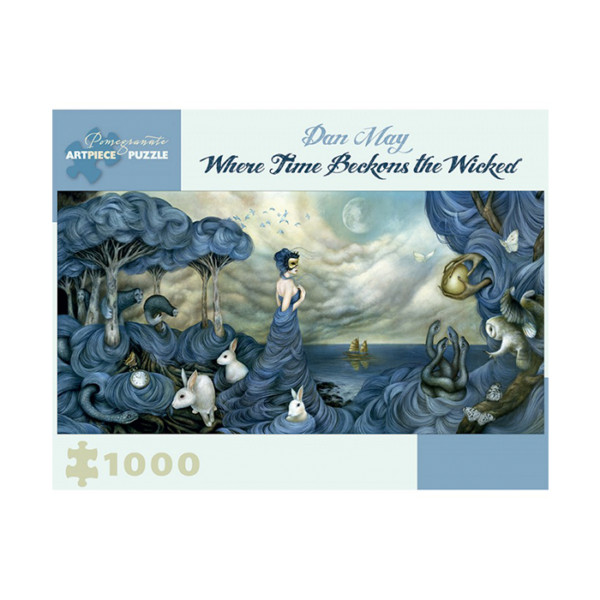 ROMPECABEZAS 1000 PC DAN MAY WHERE TIME BECKRONS THE WICKED