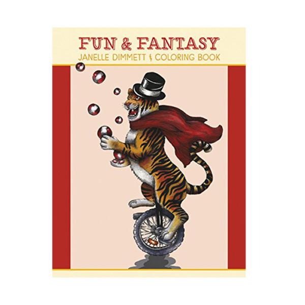 LIBRO COLORING BOOK FUN & FANTASY