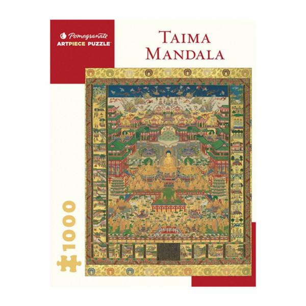 ROMPECABEZAS PUZZLE 1000 PC TAIMA MANDALA