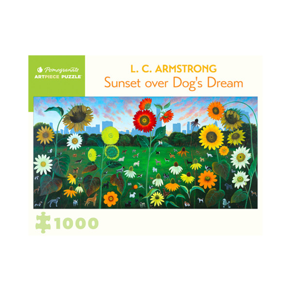 ROMPECABEZAS PUZZLE 1000 PC ARMSTRONG SUNSET OVER DOG´S DREAM