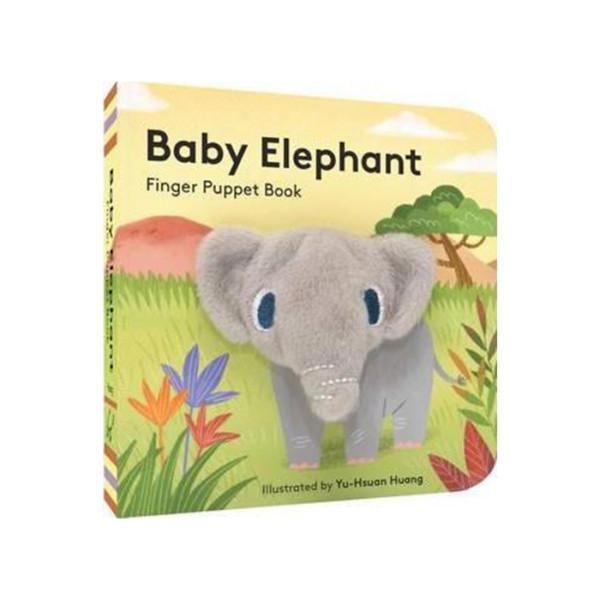 LIBRO TITERE LITTLE BABY ELEPHANT CHRONICLE BOOKS