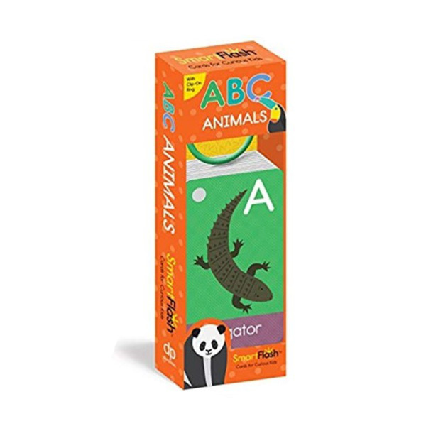LIBRO ABC ANIMALS CARDS FOR CURIOUS KIDS