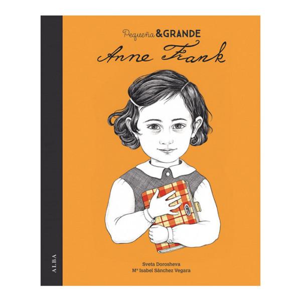 LIBRO PEQUEÑA Y GRANDE ANNE FRANK