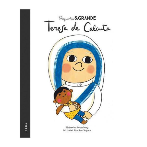 LIBRO PEQUEÑA Y GRANDE TERESA DE CALCUTA
