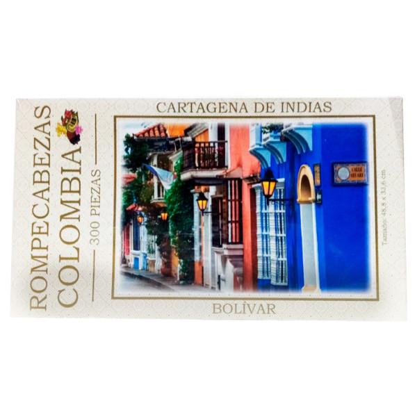 ROMPECABEZAS COLOMBIA CARTAGENA DE INDIAS 300 PC