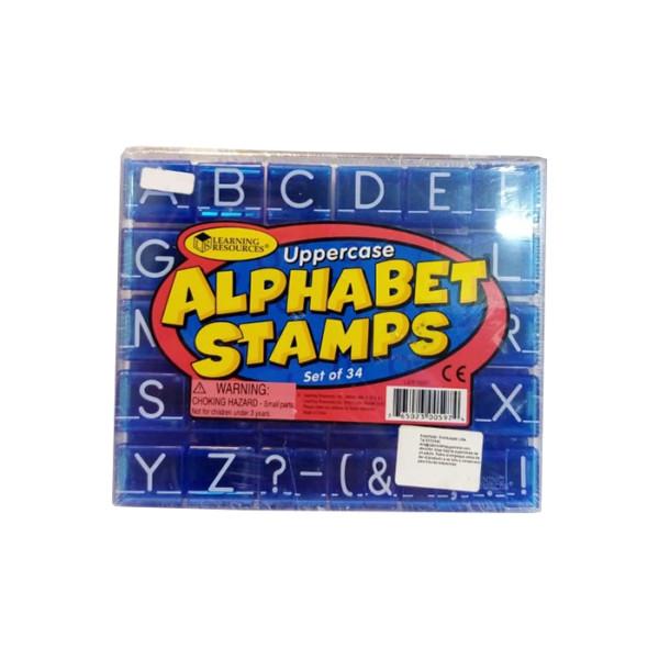 UPPERCASE ALPHABET STAMPS