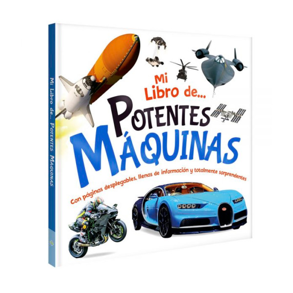 MI LIBRO DE POTENTES MAQUINAS