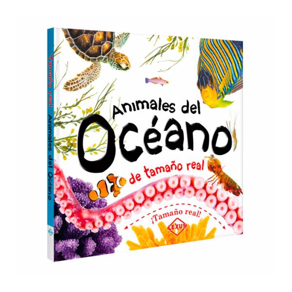 LIBRO ANIMALES OCEANO