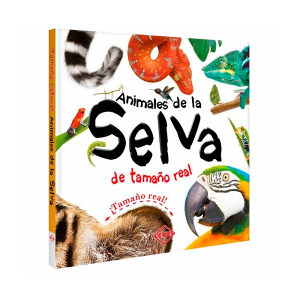 LIBRO ANIMALES DE LA SELVA