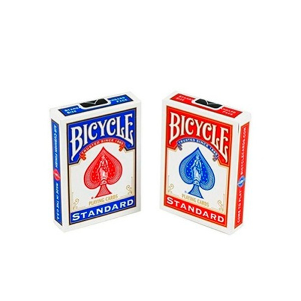 BICYCLE RIDER BACK STANDAR INDEX (RED & BLUE )