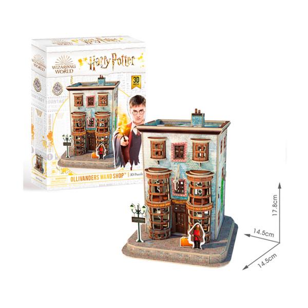 HARRY POTTER DIAGON ALLEY - WEASLEYS WIZARD WHEEZES ROMPECABEZAS 3D