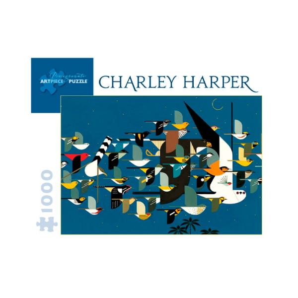 PUZZLE CHARLEY HARPER POMEGRANATE
