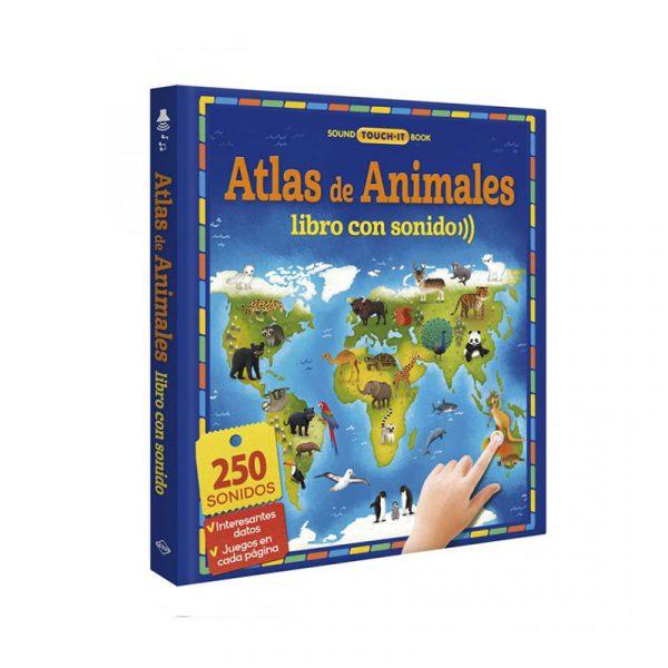 ATLAS DE ANIMALES LIBRO CON SONIDOS